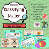 Elements and Compounds Activities and Task Cards   Distanc