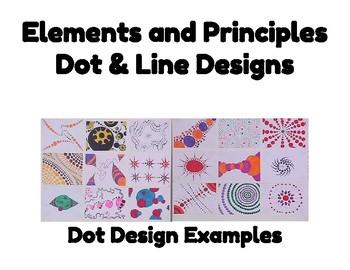 Elements and Principles Dot & Line Designs