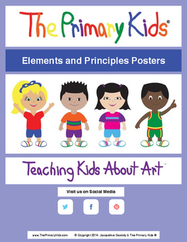 Elements and Principles Posters Bundle