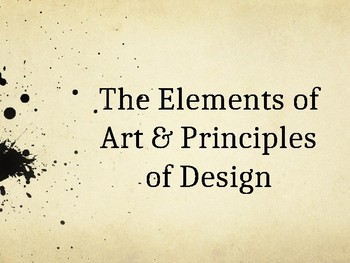 Elements and Principles Powerpoint