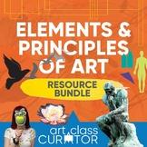 Elements and Principles Teaching Bundle