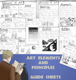 Elements and Principles of Art Handouts Grades 2 -4