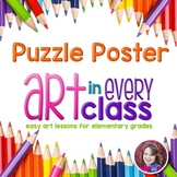 Elements and Principles of Art Poster Set (Circular Puzzle)