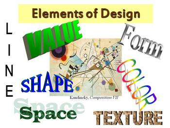 Elements and Principles of Design - Art - Paintings