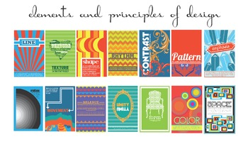 Elements and Principles of Design: Shape