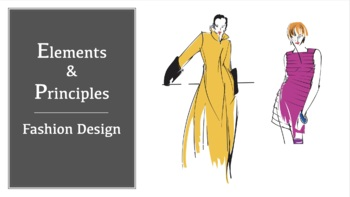 Elements And Principles Of Fashion Design By The Fcs Shoppe Tpt