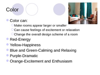 elements of interior design powerpoint