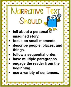 Elements and Strucutre of NARRATIVE Text POWERPOINT