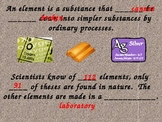 Elements and the Periodic Table of Elements Powerpoint