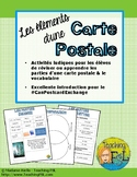 Éléments d'une carte postale
