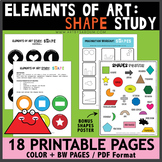 Elements of Art: Shapes Study