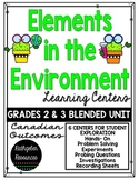 Elements in the Environment Learning Centers {Grades 2 & 3}