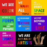Elements of Anti-Racist Artists