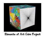 Elements of Art 3-D Cube Project