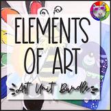 Elements of Art Lessons: Art Unit Bundle