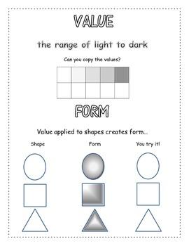 Elements of Art Assessment