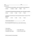 Elements of Art Assessment / Test / SGO