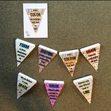 Elements of Art Bunting