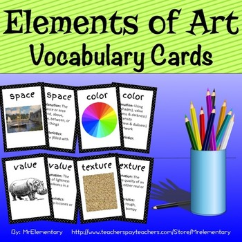 Elements of Art Trading Cards