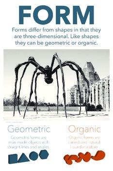 Elements of Art Classroom Poster: Form
