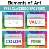 Elements of Art Classroom Posters