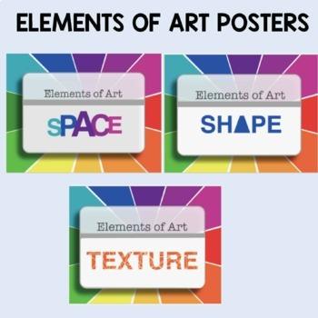 Elements of Art Classroom Posters