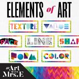 Elements of Art | Classroom Visuals