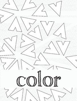 Elements of Art: Color Coloring Book Worksheet, Art Review