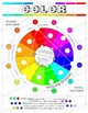 Elements of Art Color Worksheet: Elementary, Middle School, and High School Art