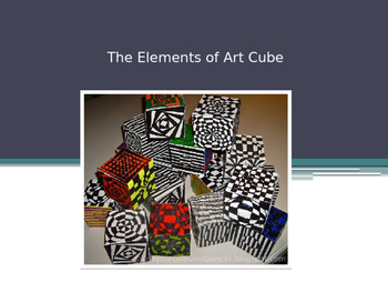 Elements of Art - Cube Project