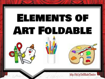 Elements of Art Foldable