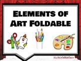 Elements of Art Foldable