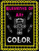 Elements of Art Handouts and Worksheets - Color - 14 Pages