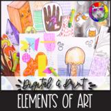 Elements of Art Introduction, Digital & Print Art Lessons,