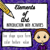 Elements of Art Introduction - SMART NOTEBOOK