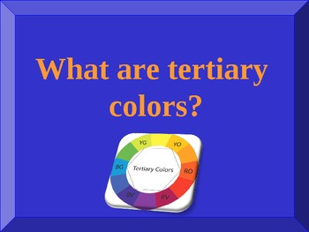 Elements of Art Jeopardy