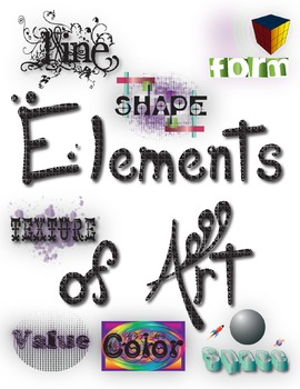 Elements of Art Large Poster