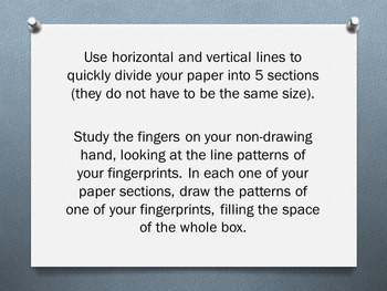 "Elements of Art ""Line"" - 20 5-Minute Bellwork, Warm-ups, and Sketchbook Prompts"