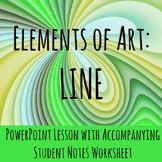 Elements of Art: Line Lesson