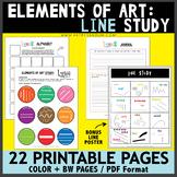 Elements of Art: Line Study