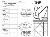 Elements of Art - Line Worksheet - Editable