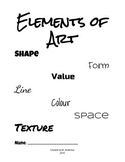 Elements of Art Notebook