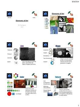 Elements of Art (PDF Notes)