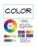 Elements of Art Poster: Color