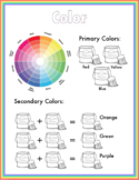 Elements of Art Poster - Color