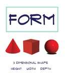 Elements of Art Poster: Form