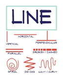 Elements of Art Poster: Line