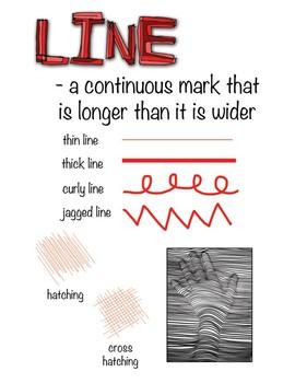 Elements of Art Poster Set