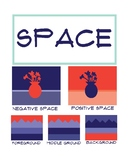 Elements of Art Poster: Space