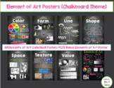 Elements of Art Posters (Chalkboard Theme)